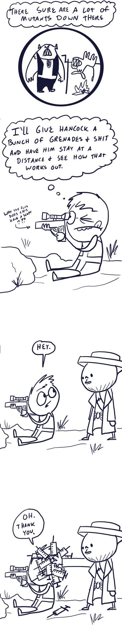 Fallout Comics - Strategy